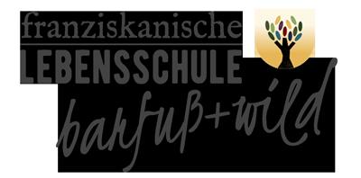 Logo der franzikanischen Lebensschule barfuß und wild